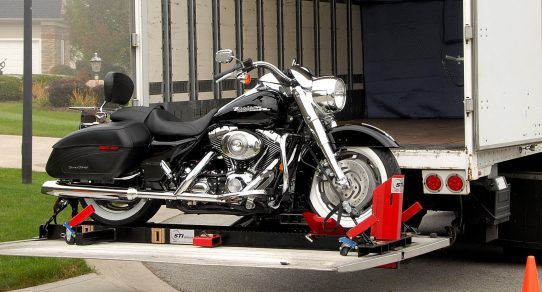 Nationwide enclosed motorcycle transport
