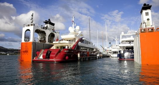 one world shipping network float on float off yacht transport