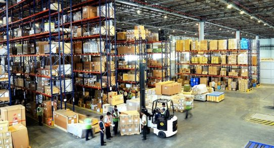 one world shipping netork warehousing and distribution centers