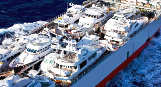 one world shipping network yacht transport