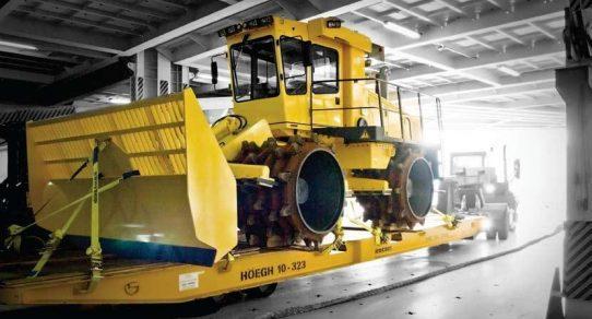 roro heavy machinery