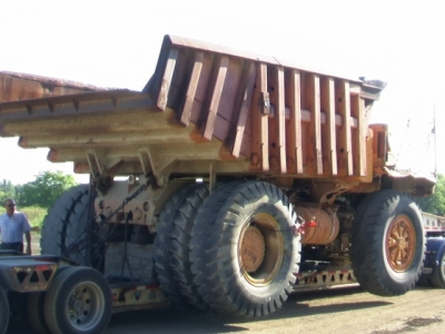 ARTICULATED TRUCK LOAD & TRANSPORT
